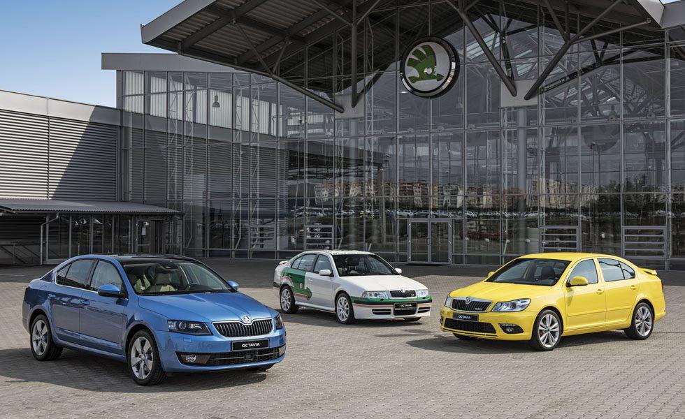 De las 3 generaciones del Skoda Octavia se han vendido más de 5 millones de unidades.