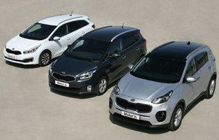 Kia Carens / Cee'd SW / Sportage. ¿Puede el nuevo Sportage con los Kia más prácticos?
