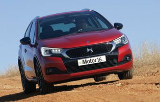 DS 4 Crossback 1.6 BlueHDI 120 EAT6. Músculo elegante