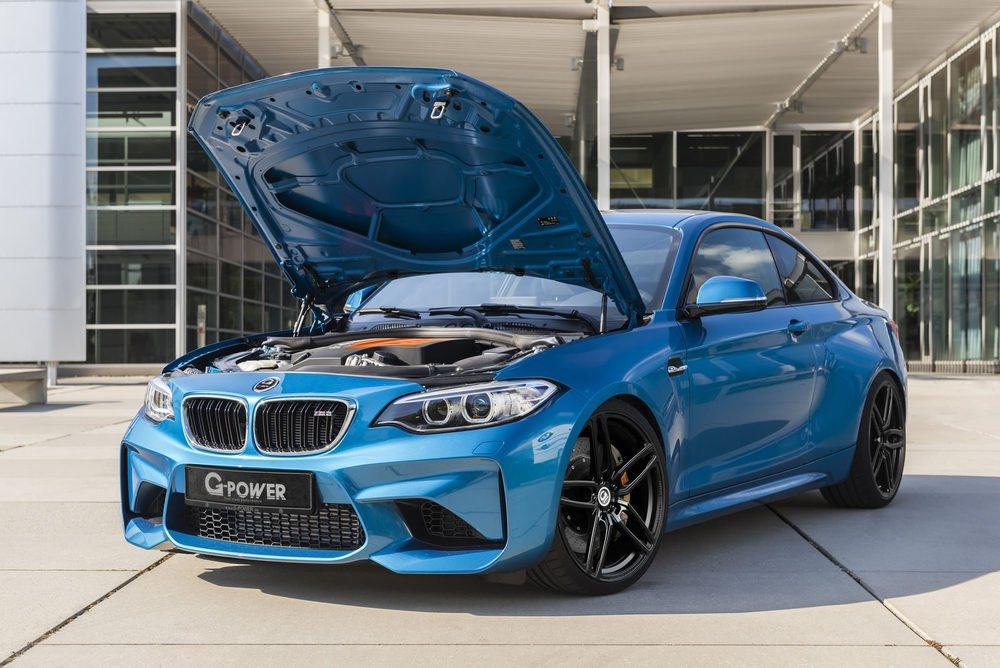 G-Power ofrece dos centralitas electrónicas para que el BMW M2 Coupé llegue a los 410 CV de potencia. Gracias a este plus de energía, este deportivo puede llegar a los 290 km/h. También hay diferentes suspensiones, escapes, llantas...