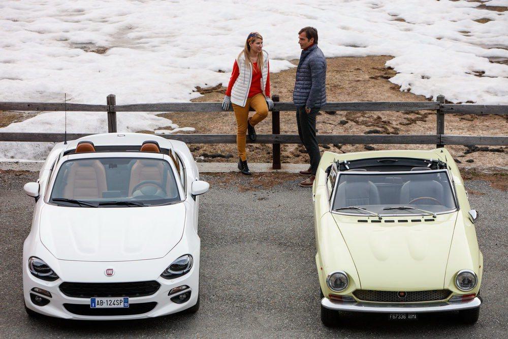 El legendario Fiat 124 Sport Spider estuvo en activo 17 años. Fue en 2015 cuando Fiat lanzaba esta nueva generación que mantiene su nombre, su filosofía y también su sistema de propulsión posterior. Del primer 124 Sport Spider hubo una versión con 136 CV.