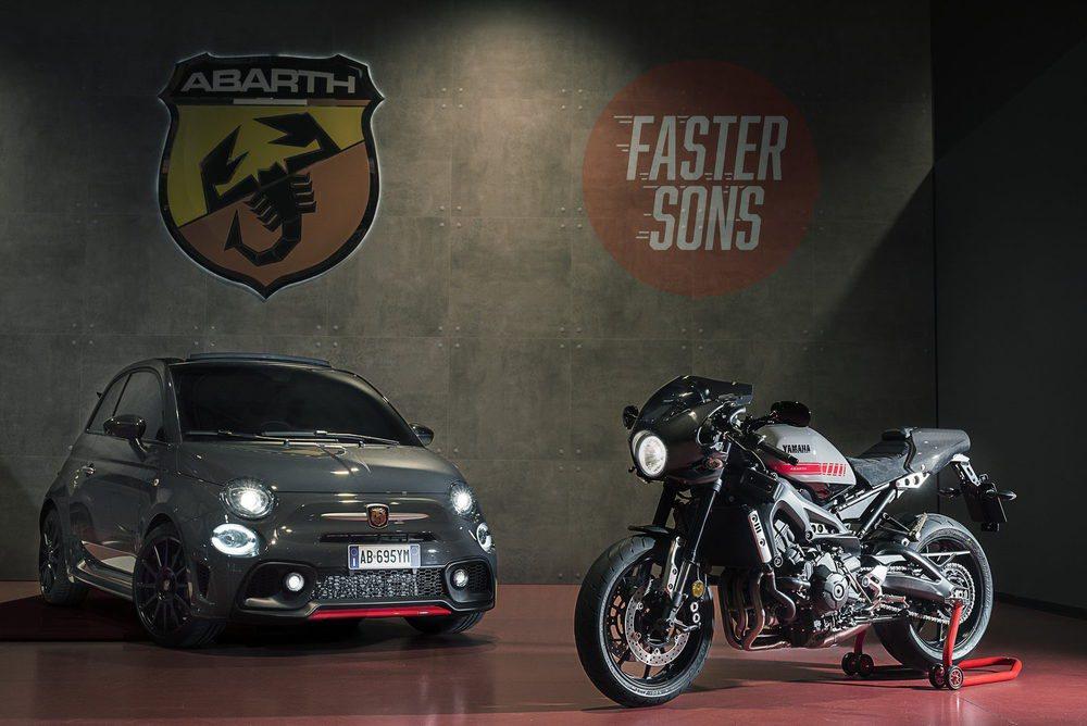 Yamaha sólo va a fabricar 695 unidades de esta XSR 900 Abarth, una exclusiva montura con carenado de carbono, escape Akrapovic y otros muchos elementos únicos, que está inspirada en este deportivo del escorpión.