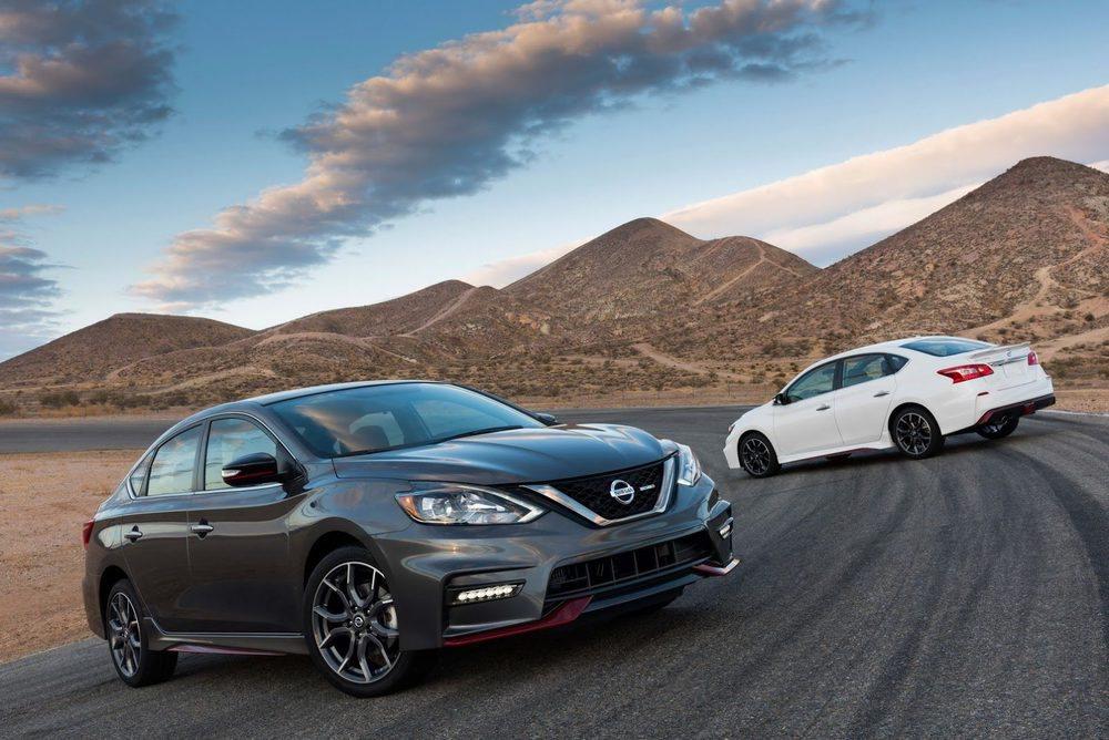 El Nissan Sentra tendrá una versión Nismo que apuesta por un motor 1.6 Turbo de 188 CV de potencia. Su estética es verdaderamente deportiva, igual que su puesta a punto, con nuevas suspensiones, frenos, dirección. Sólo están disponibles en plata, gris oscuro, negro y blanco.