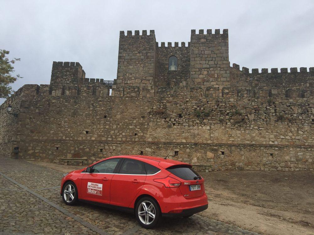 El castillo de Trujillo es uno de tantos monumentos bonitos que hemos visitado durante estos viajes