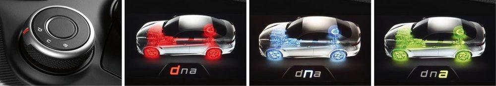 El dna de Alfa ofrece diversos modos de conducción para sacar todo el carácter del Giulia.