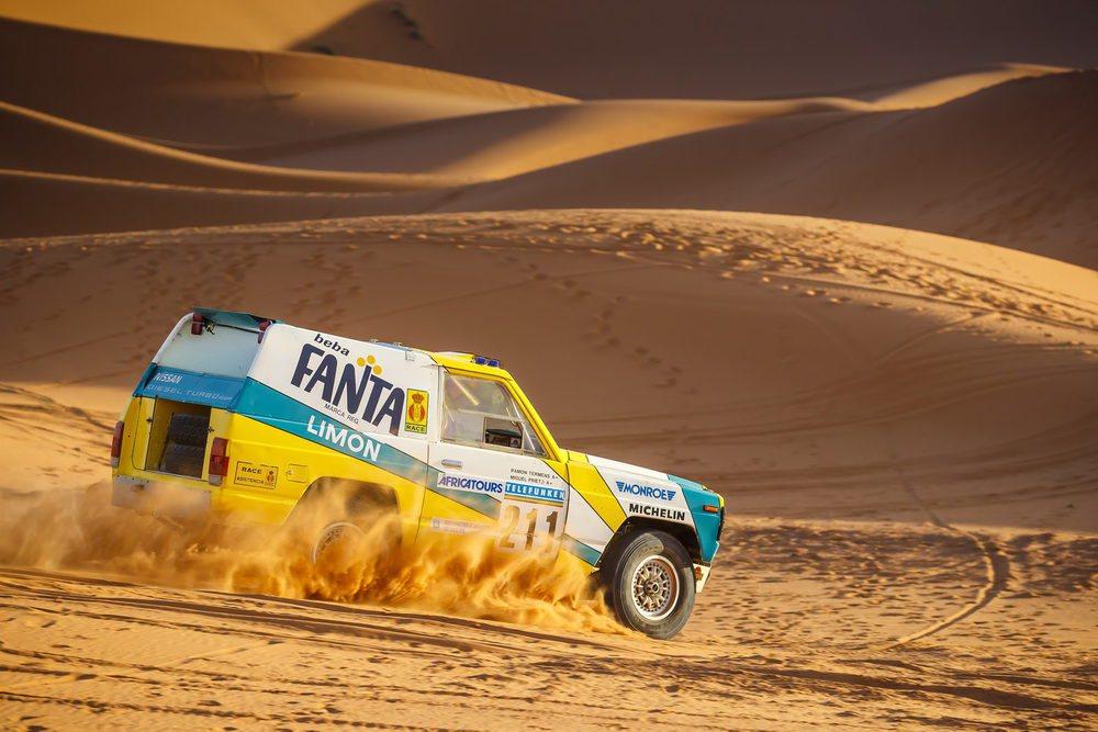 En el año 1987 dos Nissan Patrol disputaron el Rally Paris-Dakar. El dorsal #211 acabó en novena posición de la general, pero el #212 sufrió una avería en la segunda etapa y se retiró. Este ejemplar ha sido devuelto a la vida por Nissan.