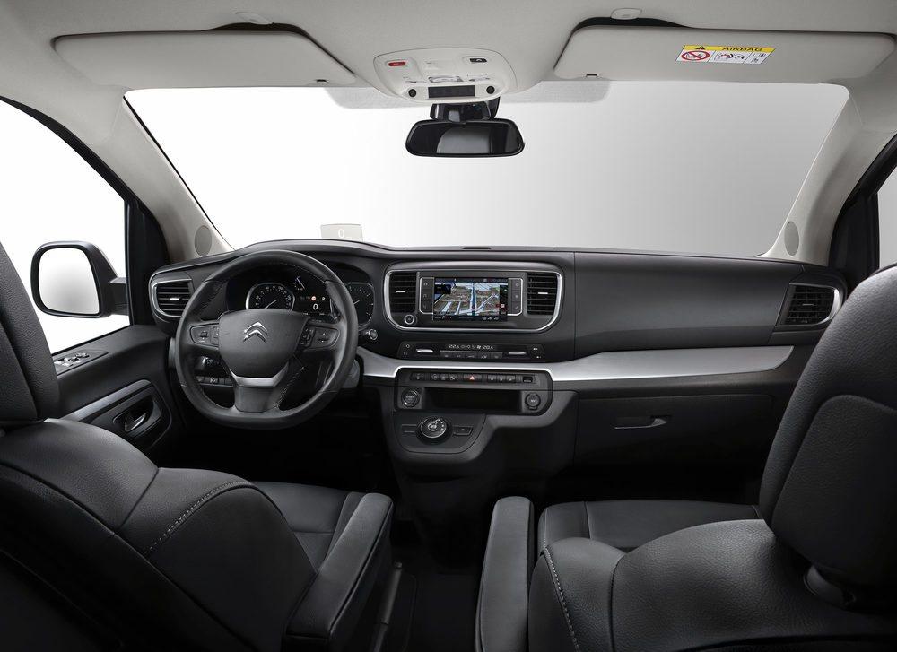 El Citroën SpaceTourer puede albergar hasta 9 pasajeros con comodidad