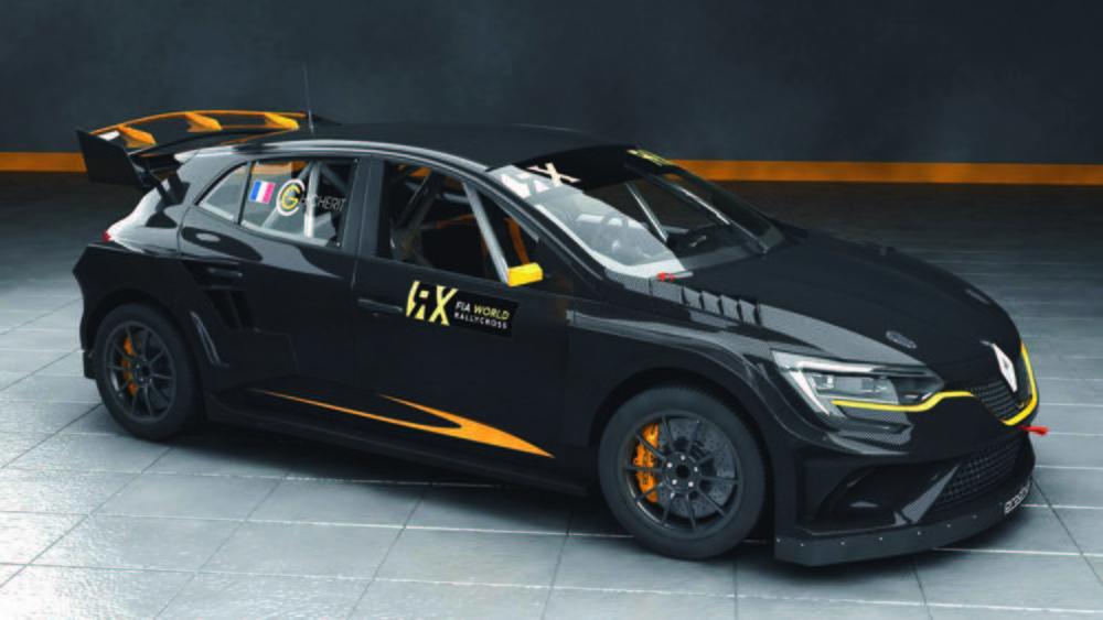 Este sería el aspecto del nuevo Mégane RX Supercar