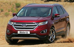 Ford Edge 2.0 TDCI 4x4 Titanium. Hermano mayor