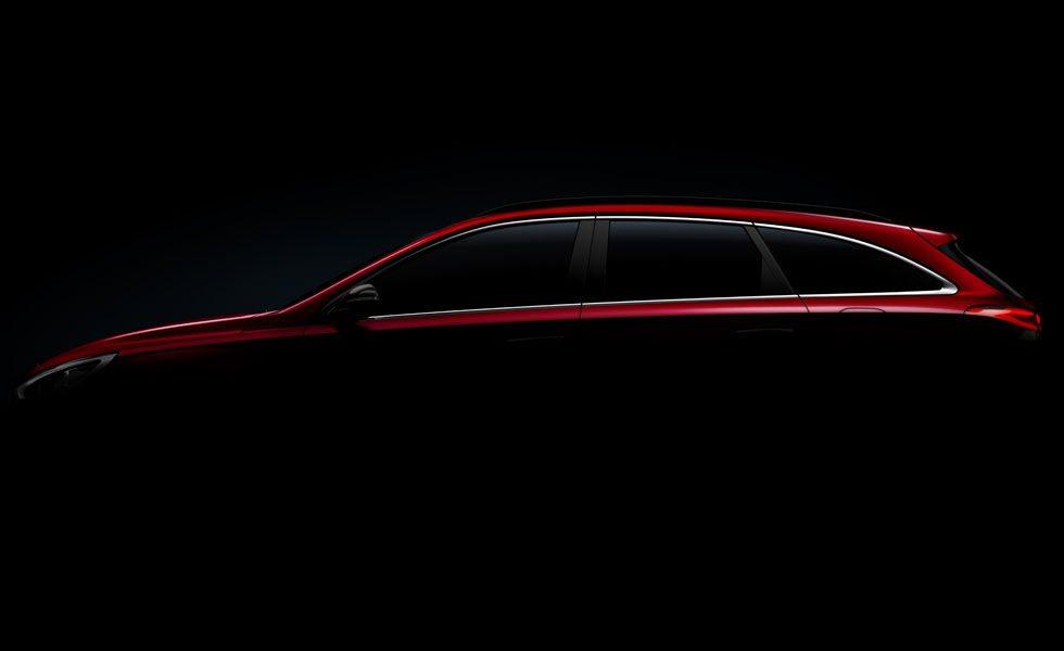La silueta del nuevo Hyundai i30 Wagon tiene un marcado acento coupé.