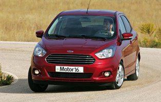 Ford Ka+ 1.2 85 CV Ultimate. Entre dos aguas