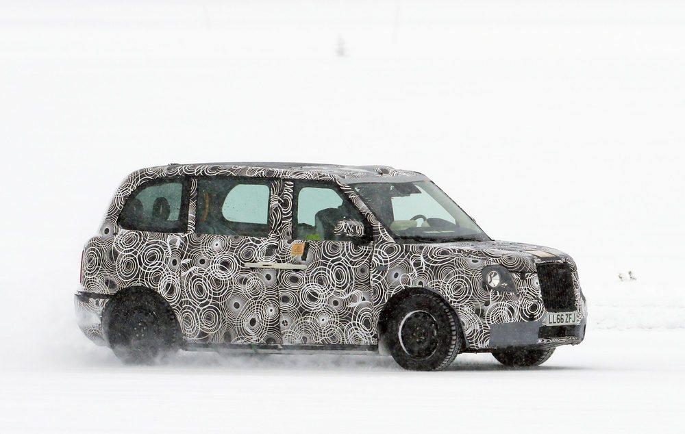 La nieve es uno de los mejores aliados para desarrollar un vehículo
