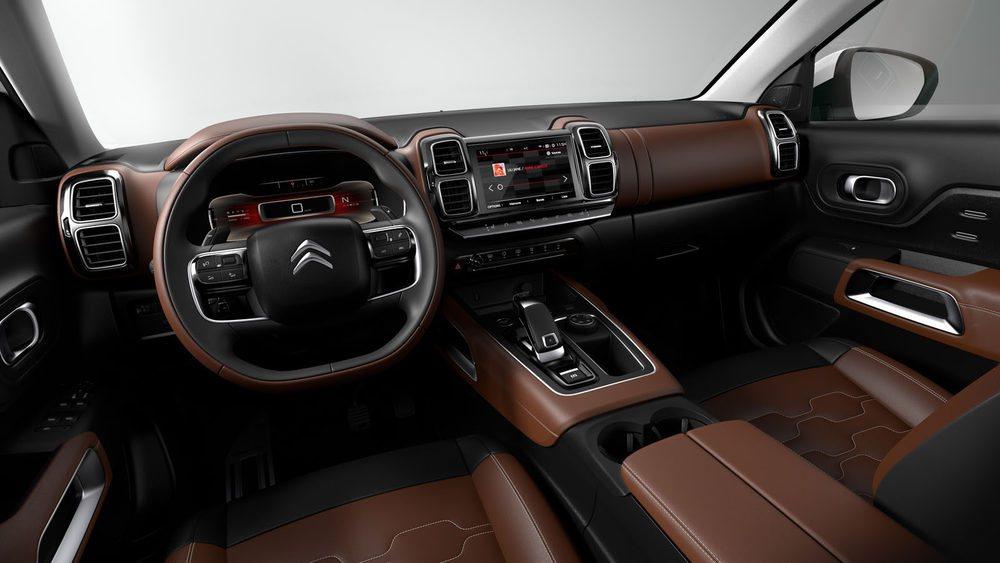 El diseño interior recuerda a modelos como el C4 Cactus en el uso de materiales. Pero el aspecto es más tecnológico.