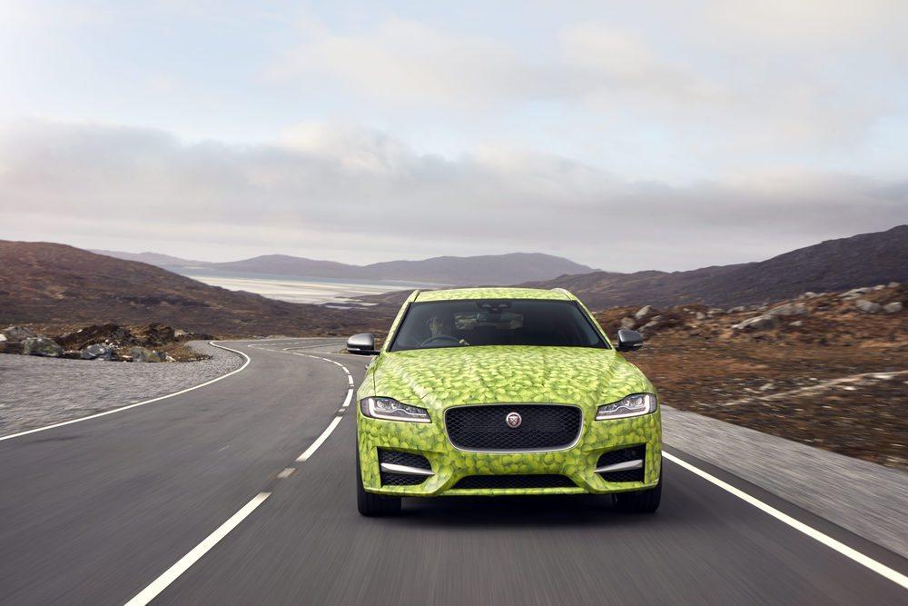La figura real de este Jaguar XF Sportbreak se podrá ver el 14 de junio