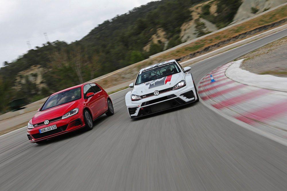 Se sortearán 40 copilotajes con el GTI TCR, la versión de carreras del Golf GTI