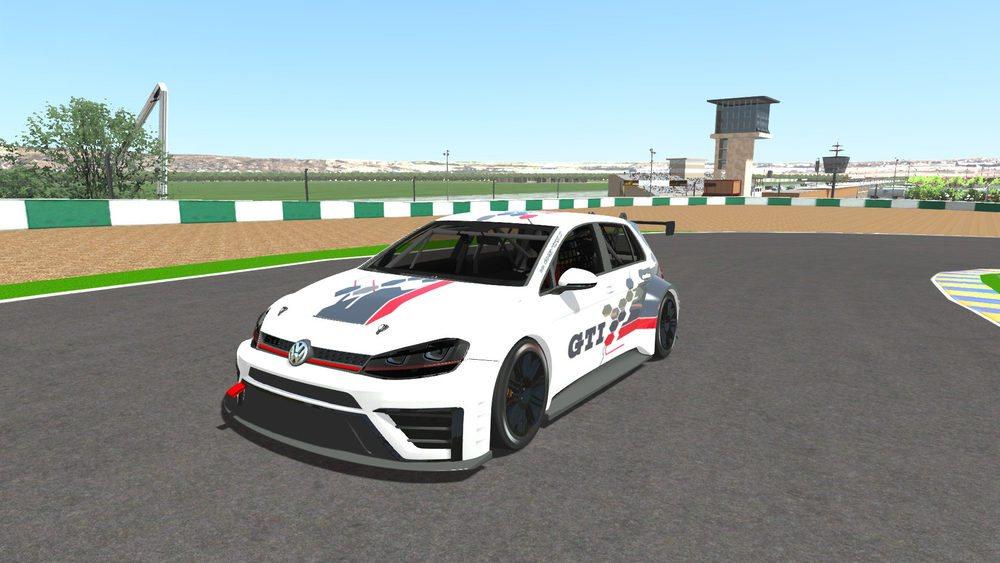 El Volkswagen Golf GTI TCR de competición es el protagonista del campeonato virtual GTI e-Race