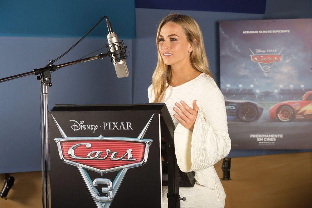 La piloto Carmen Jordá es también otra de las voces de la película.