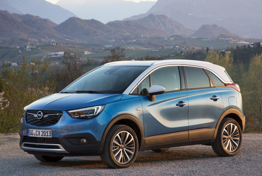 opel crossland x y mokka x 39 ultimate 39 la nueva versi n premium motor 16. Black Bedroom Furniture Sets. Home Design Ideas