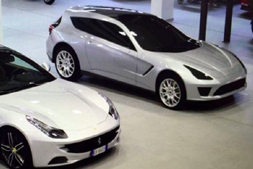 En estas fotos vemos un principio de SUV que la compañía italiana desarrolló en la época del FF