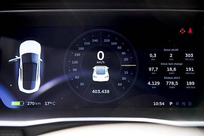 Tras recorrer más de 400.000 kilómetros como taxi en Finlandia, las baterías de este Tesla Model S 85 sólo han perdido un 7% de su capacidad.
