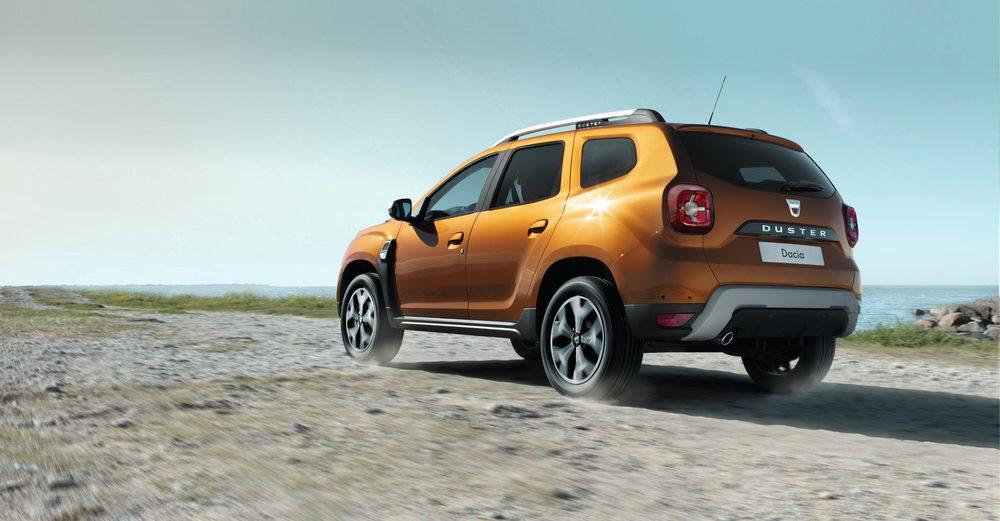 Las ópticas traseras del nuevo Dacia Duster han cambiado y presentan un diseño muy moderno