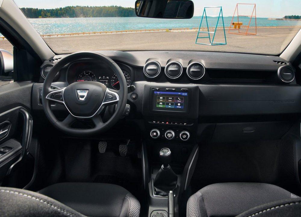El interior del Dacia Duster 2017 ha sido rediseñado por completo