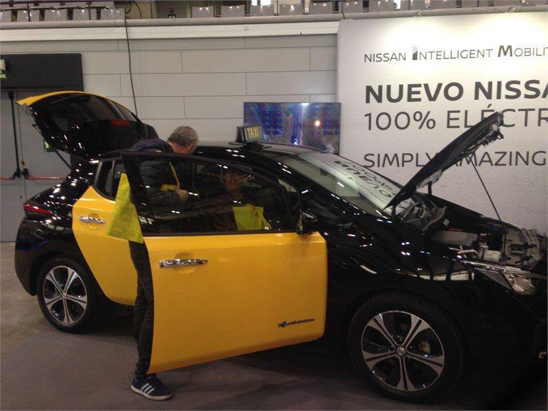 Stand de Nissan en la Feria del Taxi 2017