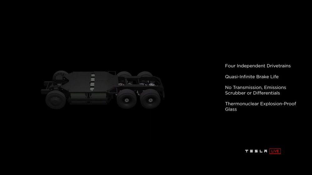 En esta imágen de la presentación podemos ver la colocación de las baterías y su fondo completamente plano