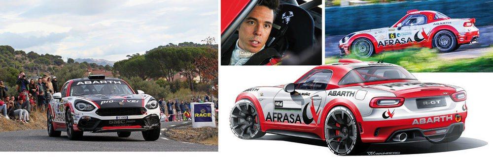 La actuación del Abarth 124 rally en el Campeonato de España de Rallyes de Asfalto, con Álvaro Muñiz a los mandos, ha sido magnífica. Además de ganar varios rallyes y un título, ha servido para que montura, piloto y copiloto se adapten.