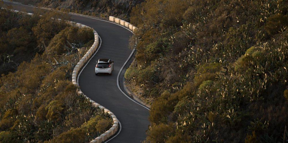 En la subida al Teide, en Tenerife, el Leaf demostró un carácter que le permitirá competir con compactos tradicionales.