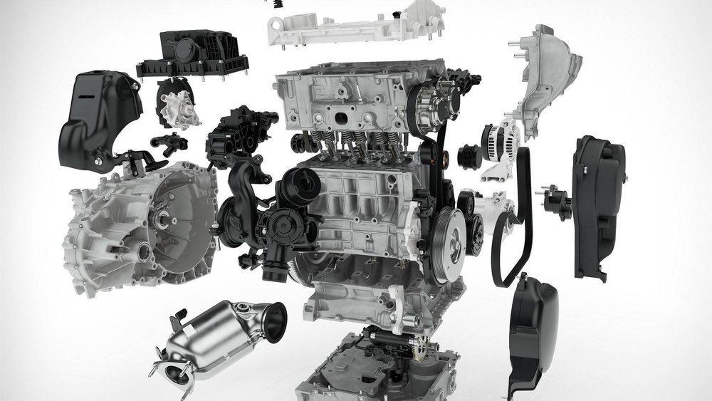 La nueva familia de motores Drive-E de Volvo es modular. Por ello han podido eliminar un cilindro para crear este T3, que lo va a estrenar el nuevo XC40 y que proporciona 150 CV de potencia.