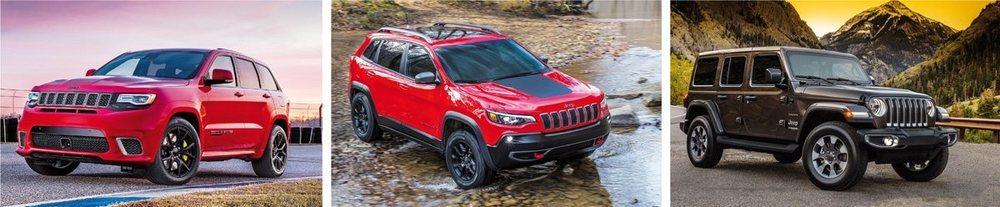 Los nuevos jeep que llegan en 2018