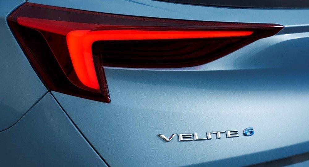 Buick Velite 6 llegará al mercado chino este año