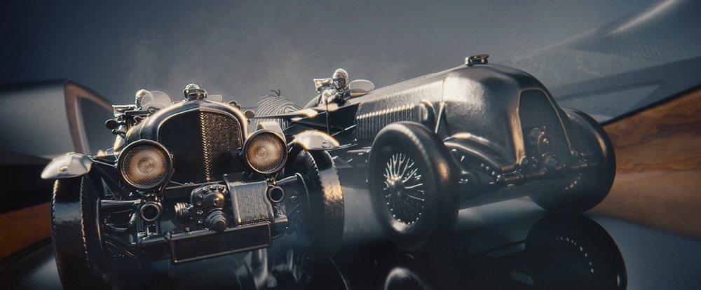El vídeo repasa los coches, personajes y logros deportivos de la marca