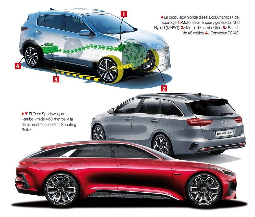 C<strong>uatro niveles de equipamiento de la gama: Concept, Drive, Tech y Emotion</strong>