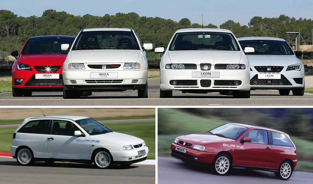 La historia de Cupra comenzó con el Seat Ibiza y después de amplió al León. En estos años se han vendido más de 60.000 unidades de los Seat más deportivos.